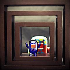 003/365 Domo Windows (Chris Gritti) Tags: windows disco squares polka domo 365 dots shelves qee 003365