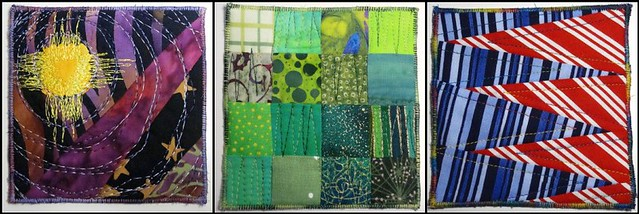 Artclash Fun-A-Day Quiltlets Numbers 1-3