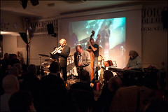 Bryan Corbett/Alan Barnes Quintet @ the Chapel Stratford Upon Avon, January 2nd. 2011 (Garry Corbett) Tags: bluejazzbuddha bryancorbett tomhill neilbullock alanbarnes paulsawtell stratfordjazz thechapelstratforduponavon cgarrycorbett2011