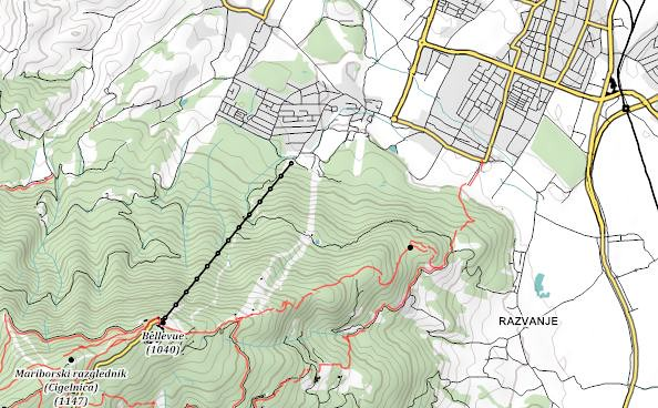Maperitive Hiking Map Sample