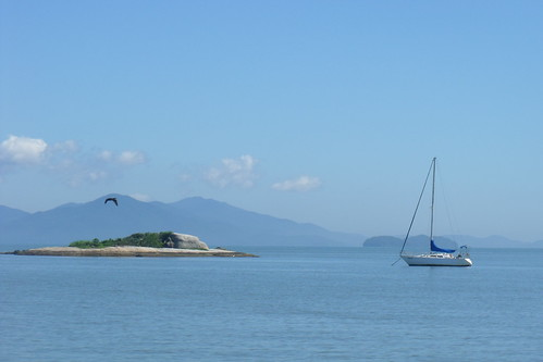 Praia do Balneário do estreito