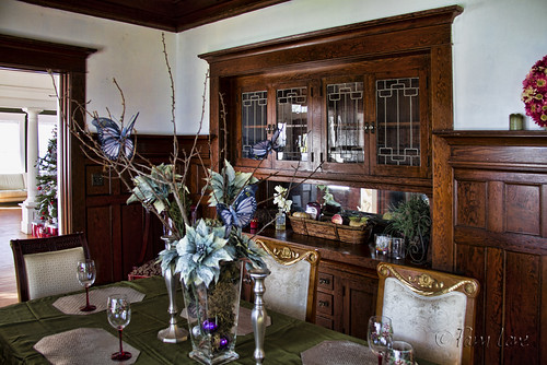 Rives Mansion dining room