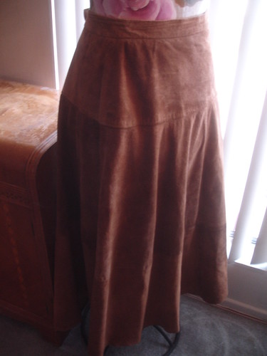 Before - Suede Skirt