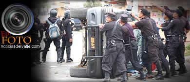Disturbios en San Pedro