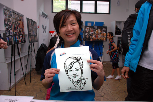 Caricature live sketching for Snow City - Day 8 - 2