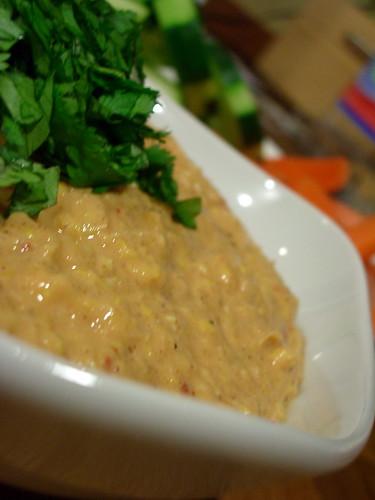 Creamy Chipolte Corn Dip