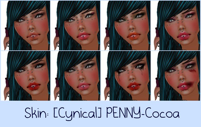 Skin: [Cynical]PENNY-Cocoa