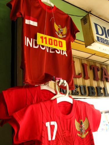 red football tshirt garuda