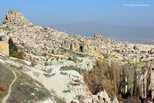 Goreme Castle in Cappadocia