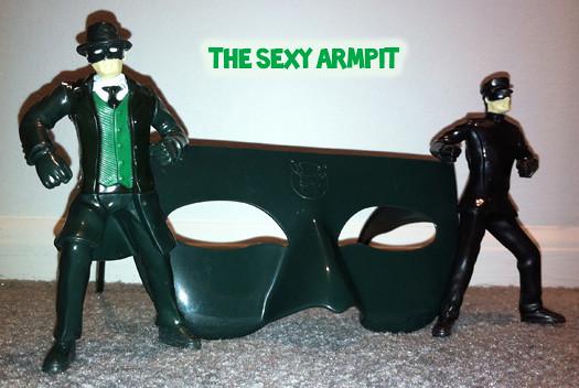 Green Hornet Toys