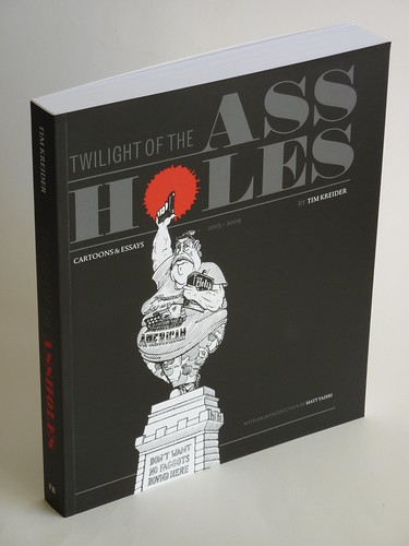 Twilight of the Assholes by Tim Kreider - front cover