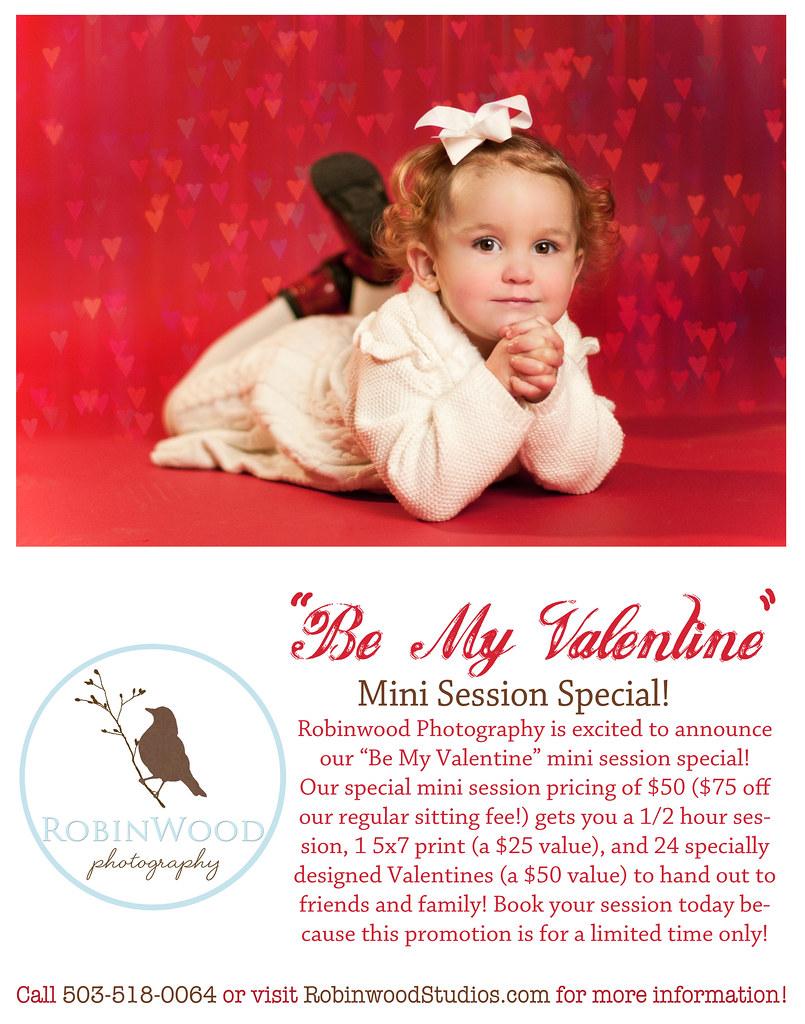 oregon city child photographer valentine mini session robinwood photography studios