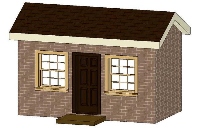 Playhouse Plans - Play House Blueprint | Playhouse BluePrints | Do