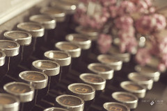 My vintage typewritter  (Isabel Pava) Tags: stilllife details typewritter
