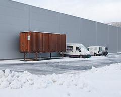 (Thorir Vidar) Tags: winter snow building norway vinter no container bergen hordaland snø sn sane åsane sn¿ thorir1101127952ddng