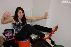day xxxv- vodka & glitter (365daysofsarav) Tags: glitter club dancing ridiculous heels vodka 365