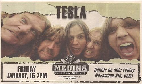 01/15/10 Tesla @ Medina, MN (Ad)