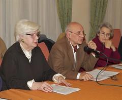 Nadia Scotti, Giannino Busato e Mina Welby