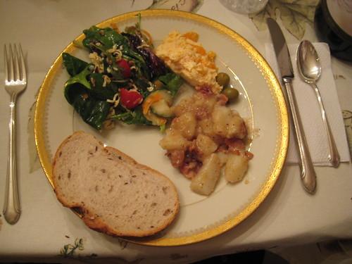 dinner 1-16-11