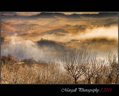 The wonderful view of the langhe - Novello - Cuneo - Italy - HDR (Margall photography) Tags: winter italy panorama mist fog canon landscape photography italia hill sigma hills marco nebbia cuneo 18200 hdr paesaggio colline langhe 30d foschia galletto margall novello mygearandmepremium mygearandmebronze mygearandmesilver