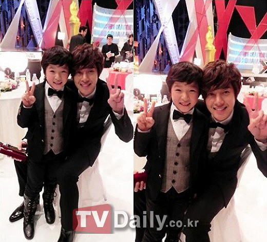 """Boys Over Flower"" Kim Hyun Joong-Nam Da Reum Heartwarming Reunion [04.01.11]"