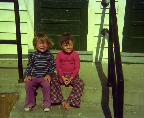 ricky and me circa 1976