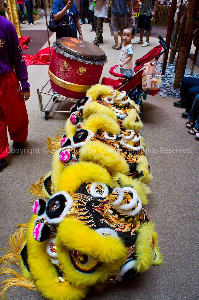 Lion Dance @ MidValley, KL, Malaysia