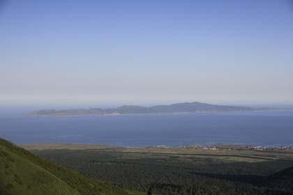 礼文島と鴛泊市街