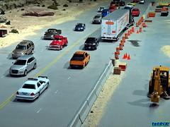 Desert Highway Diecast Diorama