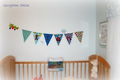 Baby bunting for the baby boy