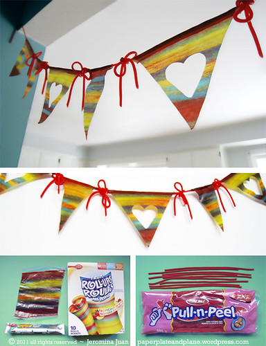 Edible Bunting (100% candy!)