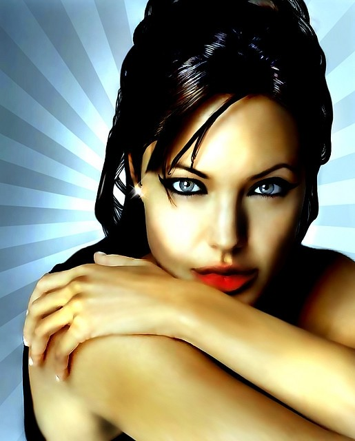 Angelina Jolie by CyLoo - Design Art?s
