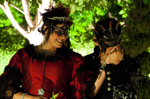 Jenifer William 39s opulent masquerade ball wedding