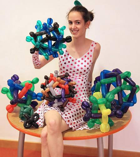 Vi Hart Polyhedra Balloons