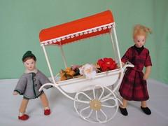 Blumenwagen - Bodo Hennig 1964 - flower cart 2