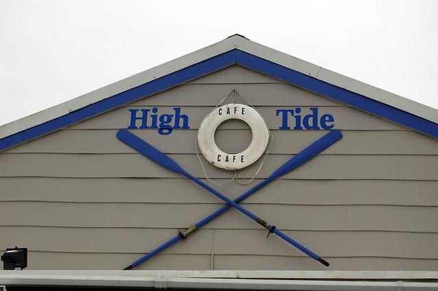 High Tide signage
