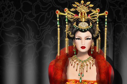 MFD19_Mui Mukerji - Alienbear's Designs - Oriental phoenix serene