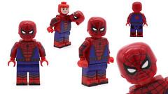 civil war spider man lego custom figures TAKHYUN (Takhyun:)) Tags: civil war spider man lego custom figures takhyun