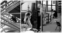Les photographes sont partout !! (Et si, et si ...) Tags: monochrome montage triptyque portraits photographes