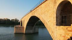 PA224208 (餅乾盒子) Tags: 法國 亞維儂 france avignon 夕陽 pont davignon saintbénezet 亞維儂斷橋 聖貝內澤橋 阿維尼翁橋