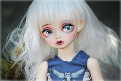Welcome home, Mani <3 ( Queen-of-Endrion ) Tags: peakswoods sassy rosy oscardoll eyes oscar doll