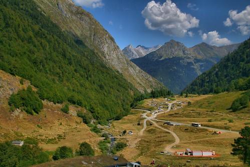 Gave de Bious, Pyrenäen