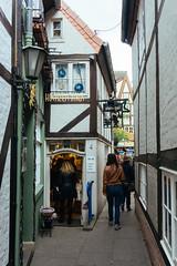 Walking around in the picturesque Schnoor district (tiagoalexandresilva) Tags: germany bremen europe sonya6000 hanseatic