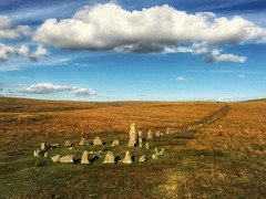 'Long forgotten paths'        (Explored 11.10.16.......see description) (Milesofgadgets) Tags: megalithic neolithic devon dartmoornationalpark downtorstonerow downtor zeiss exolens 6splus 6s iphone iphone6splus zeissexolens zeissexolenswideangle