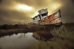 Inverness California (nancian) Tags: california lago barco nubes hdr inverness