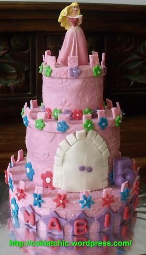 Princess castle cake, cup cake Dora – NABILA | Jual Kue Ulang Tahun