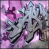 3-Asuem (GESER 3A) Tags: black art silver graffiti blog paint image totem spray 3a chrome crew vandalism buster capture burner belton kem ges molotow kem5 kems geser asuem