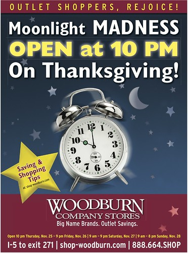 Portland Thanksgiving Shopping & Black-Friday Sale | Woodburn