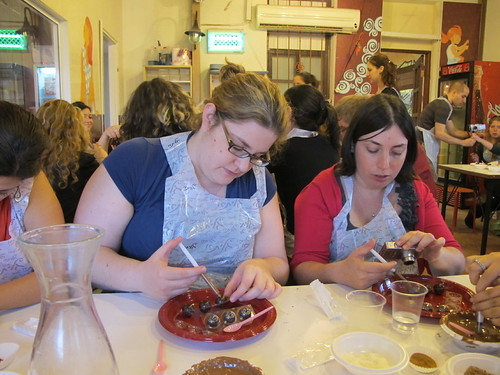 Chocolate workshop at גליתא