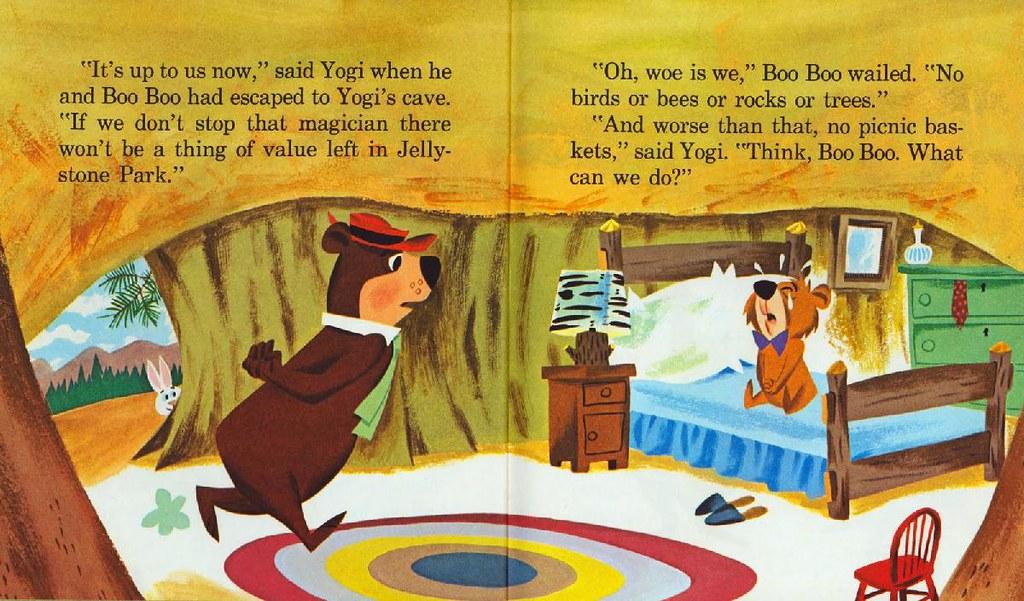 Yogi Bear & the Cranky Magician011